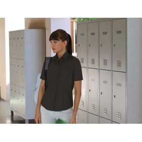 Camisa De Manga Corta De Mujer