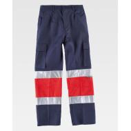 Pantalons Multibutxaques D'alta Visibilitat Bicolor