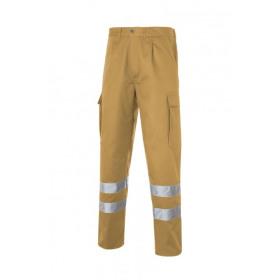 Multi 2b Pantalon Bandas Reflectantes Beig