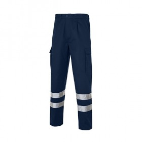 Multi 2b Pantalon Bandas Reflectantes Marino