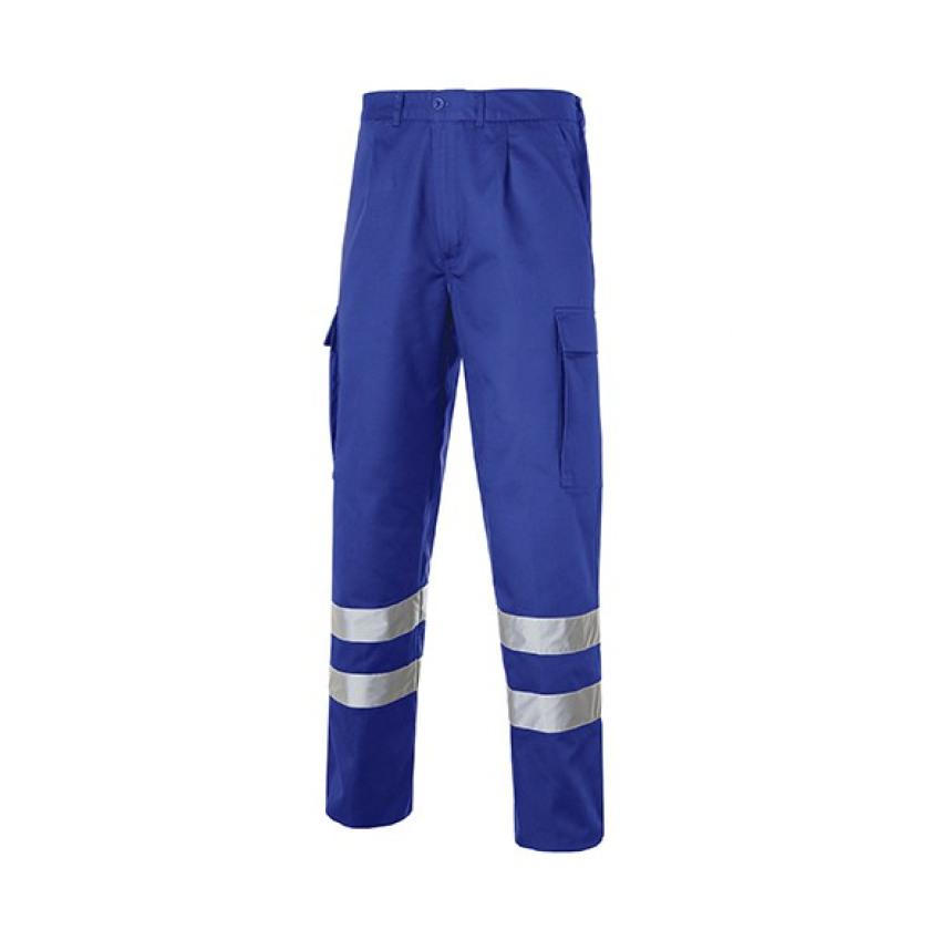 Multi 2b Pantalon Bandas Reflectantes Azulina