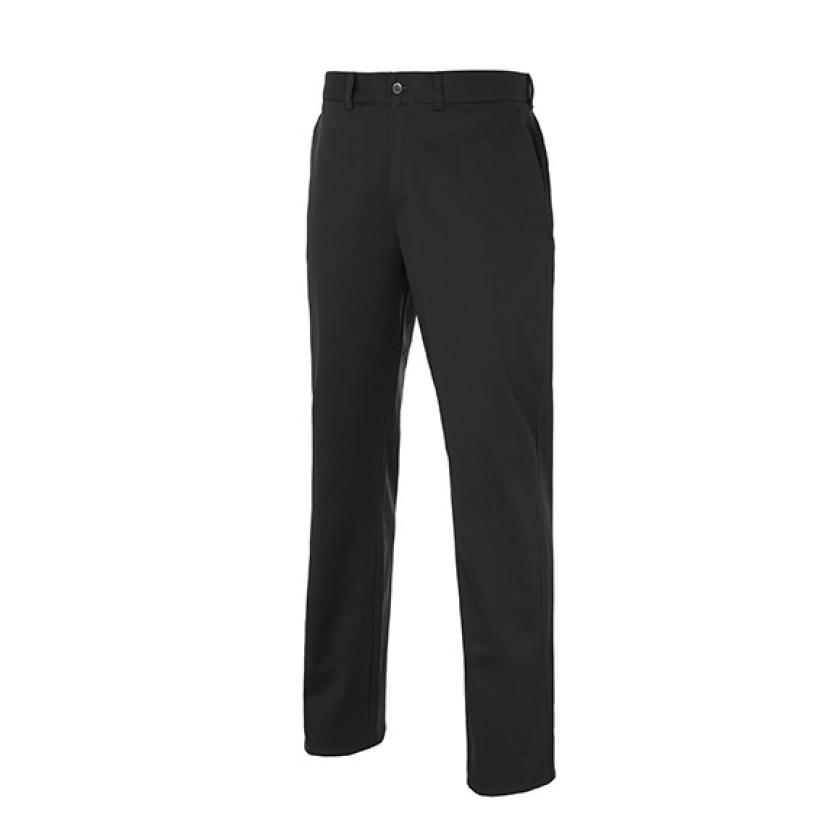 Chino Cro Pantalon Elastano Negro