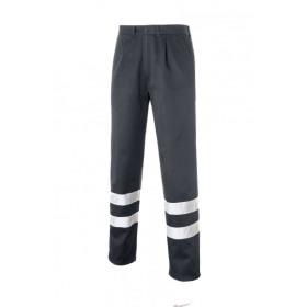 Pals 2b Pantalon Bandas Reflectantes Gris 0