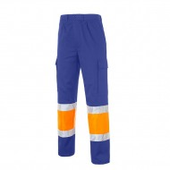 Pantalones Alta Visibildiad Multibolsillos